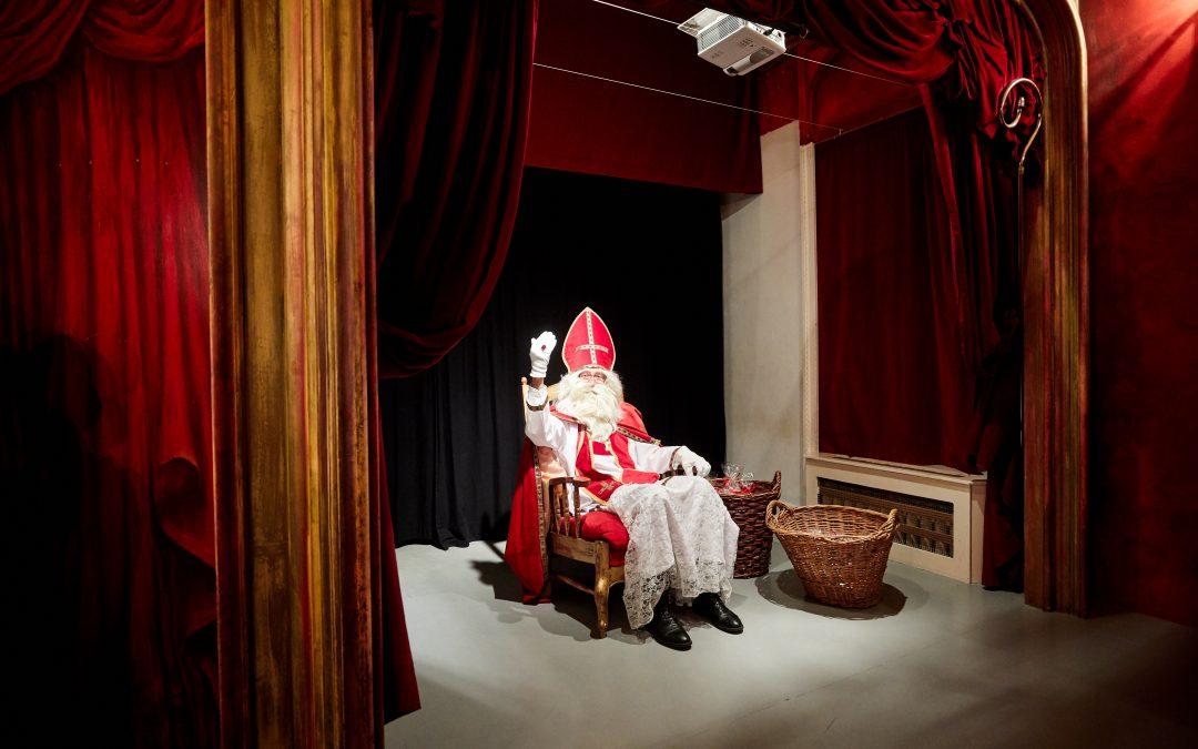 Sinterklaas in het Kindermuseum